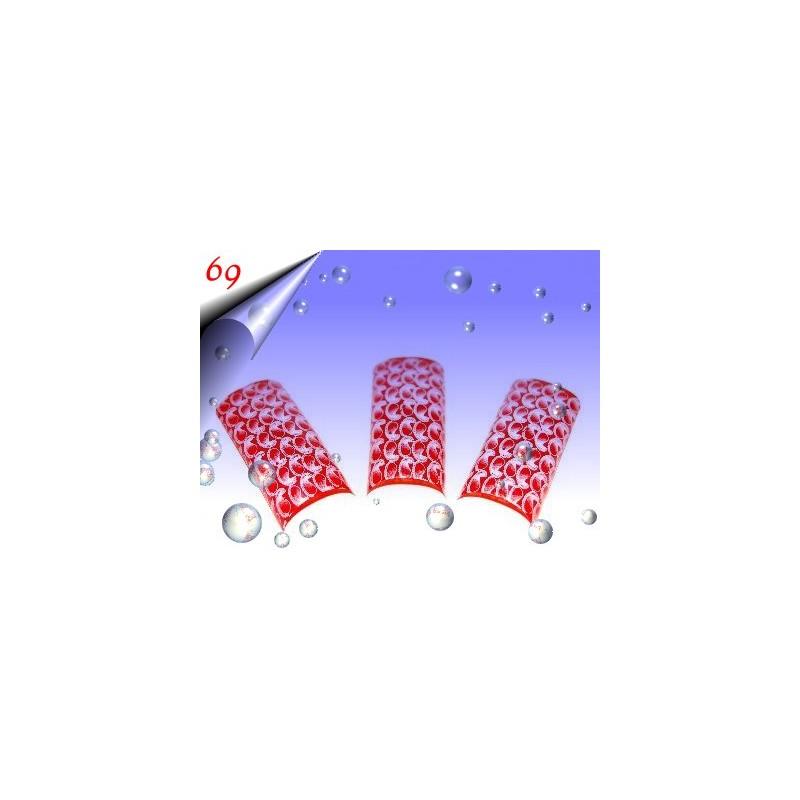 Airbrush Designer Nagel Tips Nr.69 ~ 70 Stück inkl. Tipbox