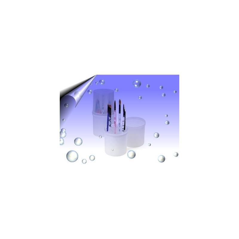 Aufbewahrungsbox Weiß für Nagelfeile, Pinsel und Werkzeuge