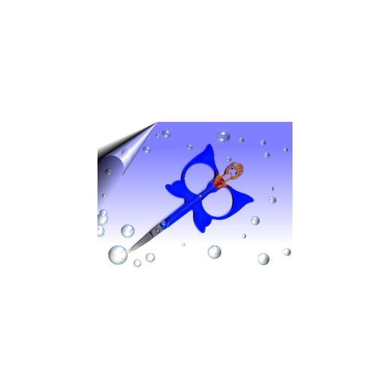 Fiberglas Schere Blau