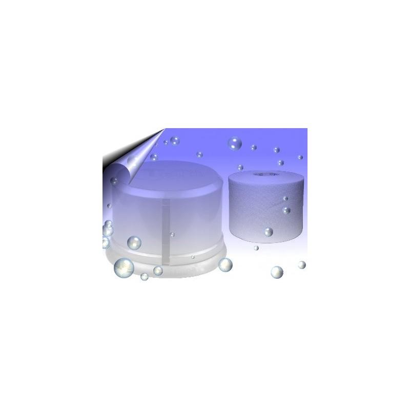 Zellettenspender Transparent mit Saugnäpfen