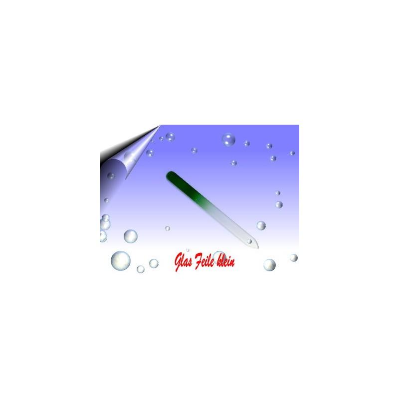 Glasfeile ~ Glasnagelfeile klein Grün