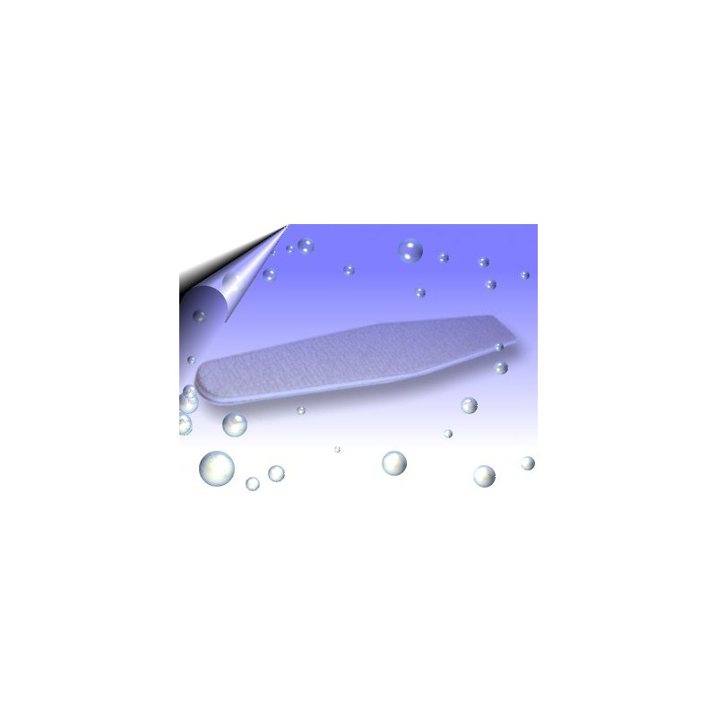 Spezial Nagelfeilen Grau ~ extra breit 50 Stück
