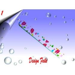 Design Nagelfeile ~ Polierfeile Nr.1