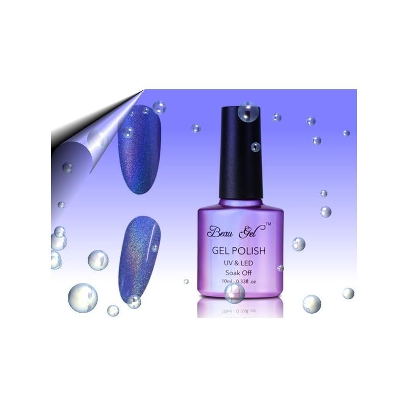 Soak Off Regenbogen UV Nagellack Hellblau ~ Nr.4