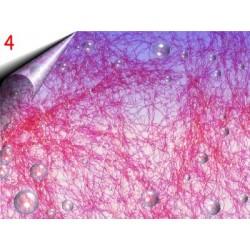 Laser Lace ~ Nagelnetz Neon Orange Nr.4