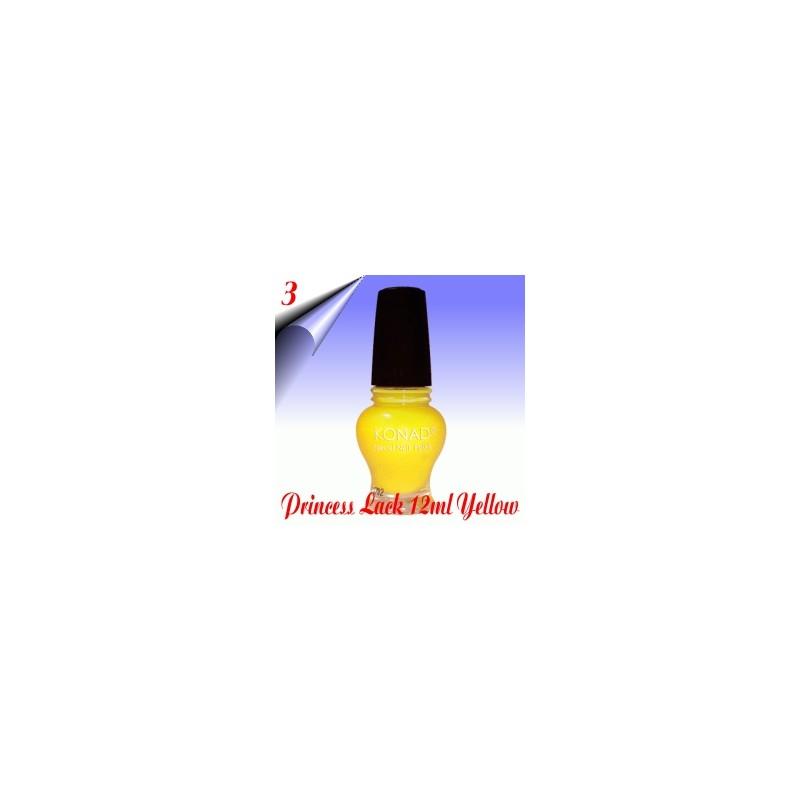 Original Konad Nail Stamping Princess Lack Yellow Nr.3