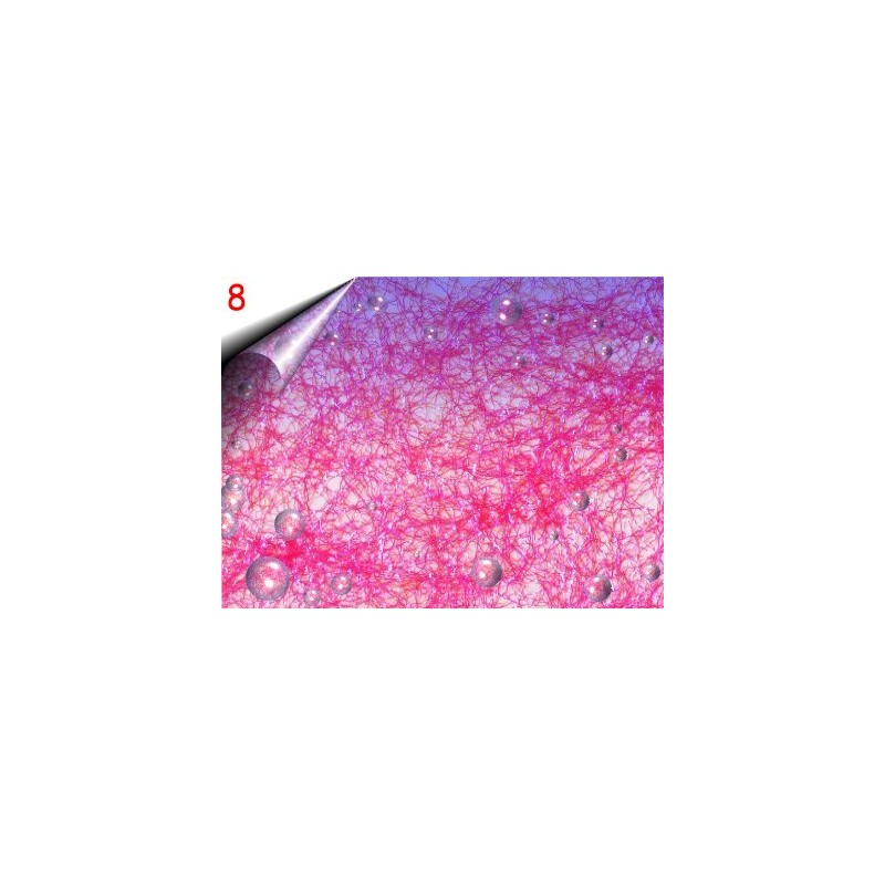 Laser Lace ~ Nagelnetz Hot Pink Nr.8